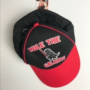 Rule The Galaxy Darth Vader Hat Toddler NWT